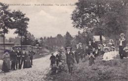 619 Henripont Route D Ecaussines Vue Prise De L Eglise - Autres