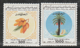 LIBYE - N° 1790/1 ** (1988) Palmiers - Trees