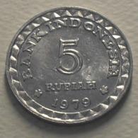 1979 - Indonésie - Indonesia - 5 RUPIAH, Family Planning, KM 43 - Indonesia