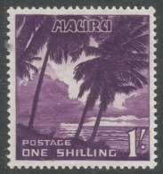 Nauru. 1954-65 Definitives. 1/- MH. SG 54 - Nauru