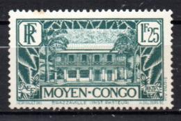 Col17  Colonie Congo N° 128 A Neuf X MH Cote 3,00€ - Congo Français (1891-1960)