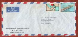 Luftpost, Almaqta-Bruecke U.a., Zart Entwertet, Dubai Nach Mainz 1973 (80813) - Ver. Arab. Emirate