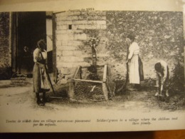 BELGIQUE     Tombes Dans Une Ferme - Oorlog 1914-18