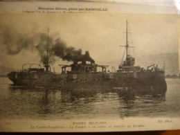 """Contre-torpilleur  """"la Foudre"""" - Ausrüstung"""