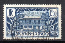 Col17  Colonie Congo N° 129 Oblitéré Cote 10,00€ - Frans-Kongo (1891-1960)