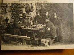Argonne     Dans Une Carrière - Oorlog 1914-18