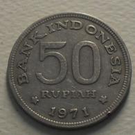1971 - Indonésie - Indonesia - 50 RUPIAH - KM 35 - Indonesia