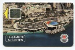 Telecarte °_ Monaco-4.B-Palais Des Congrés-Sc5an.pe- R/V 4885 - Monaco