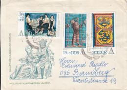 BERLIN ARTS PHILATELIC EXHIBITION, SPECIAL COVER, 1972, GERMANY - [6] République Démocratique