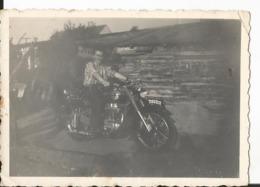 Photo - Homme à Moto - à Identifier - Cars
