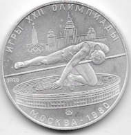Russie - 5 Rouble - 1978 - SUP - Argent - Rusia
