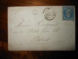 Enveloppe GC 2426 Montargis Loiret - 1849-1876: Période Classique