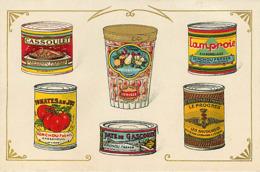 47 Casseneuil Publicité   Fabrique De Conserves Alimentaires Senchou - Francia