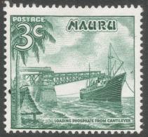 Nauru. 1966 Definitives. 3c MH. SG 68 - Nauru