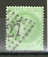 N° 53°_cote 10.00_bon Centrage - 1871-1875 Cérès