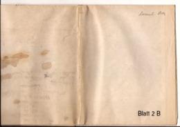 Carte MILITAIR ALLEMANDE FEB 1918 BELGIQUE FRANCE NORD LUXEMBOURG GD DCO2167 CA - 1914-18
