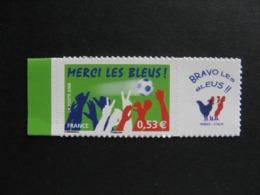A). TB N° 3936 B , Neuf XX. Autoadhésif. Vignette Personnalisée. - France