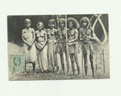 SRI LANKA - CEYLON - Veddahs Beau Plan Groupe Ethnique Femmes Seins Nus Bon état - Sri Lanka (Ceylon)