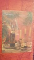 Cognac   - OLD  USSR Postcard 3D Stereo PC 1973 Armenian Edition - Alcohol Advert - Stereoscopische Kaarten