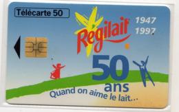 FRANCE EN1578 REGILAIT  50U Date 03/97 Tirage 1271 Ex - Privadas