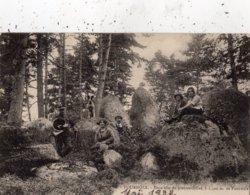 FOURNOLS-D'AUVERGNE BEAU SITE DE PIERRES-FOLLES GARDE FORESTIER - Autres Communes