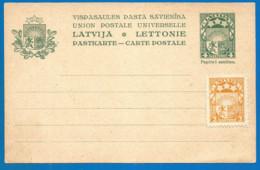 Latvia Old Mint Post Card - Lettland