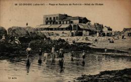 44 - LE CROISIC - Plage Et Rochers De Port-Lin - Hôtel De L'Océan - Le Croisic