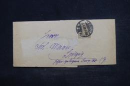 ALLEMAGNE - Bande Journal De Leipzig En 1907 Pour Leipzig - L 44330 - Ganzsachen