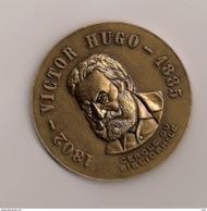 Médaille Victor Hugo 1802 - 1885 - Francia