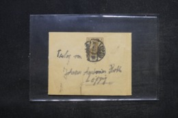 ALLEMAGNE - Bande Journal De Leipzig En 1907 Pour Leipzig - L 44331 - Ganzsachen