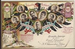 BERLIN Parfumerie Besuchs Anzeige Des Herrn Emil Schmckel - Germany