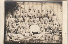 Très Rare Cpa-photo Groupe De Musicien Du 10? RI Classe 1916 - 1914-18