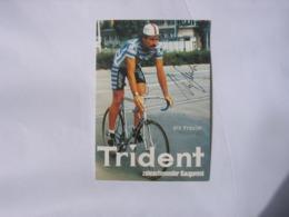 Cyclisme - Autographe - Carte Signée Urs Freuler - Ciclismo
