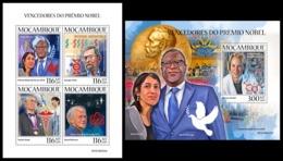MOZAMBIQUE 2019 - Nobel Prize Winners. M/S + S/S. Official Issue [MOZ190423] - Nobel Prize Laureates