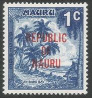 Nauru. 1968 Republic O/P. 1c MH. SG 80 - Nauru