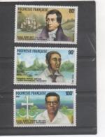 POLYNESIE Française - Missionnaires Protestants : Pasteur Henry NOTT, Evangéliste PAPEIHA, Pasteur Samuel RAAPOTO - Polynésie Française