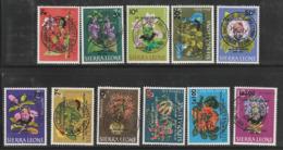 SIERRA LEONE - N° 286/91+PA N°36/40 Obl (1965) A La Mémoire De Sir Winston Churchill - Sir Winston Churchill