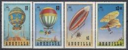 ANGUILLA 546-549,unused,balloons - Anguilla (1968-...)