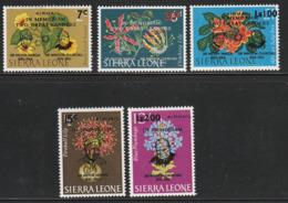 SIERRA LEONE - PA N°36/40 ** (1965) A La Mémoire De Sir Winston Churchill - Sir Winston Churchill