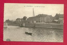 C.P. Vilvoorde =  Le  Pont Sur Le Canal - Vilvoorde