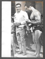 Photo Press Muscular Men  MILETO SALVATORE MISTER ITALIA 1959  - Homme - Garcon - Men - - Anonyme Personen