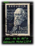 Österreich - Mi. Nr: 967 - In Gebraucht - 1945-.... 2. Republik