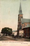 Bois D'Haine, église Et Marronnier (colorée). Manage. - Manage