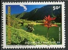 Polynésie Française - Polynesien - Polynesia 2001 Y&T N°635 - Michel N°836 *** - 50f Lac Vaihiria - Polynésie Française
