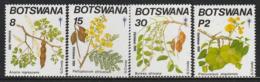 BOTSWANA - N°630/33 ** (1990) Noël : Fleurs Et Fruits D'arbres - Botswana (1966-...)