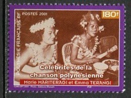 Polynésie Française - Polynesien - Polynesia 2001 Y&T N°641 - Michel N°842 *** - 180f M Mariteragi Et E Terangi - Polynésie Française