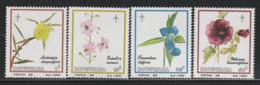 BOTSWANA - N°536/9 ** (1986) Noël : Fleurs - Botswana (1966-...)