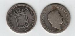 Royaume Des Deux Siciles 10 Grana  1847  Vieille Tête Avec Barbe  G. 10  2.3gr  Ferdinand II - …-1861 : Antes De La Reunificación