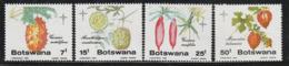 BOTSWANA - N°520/3 ** (1985) Noël : Fruits - Botswana (1966-...)