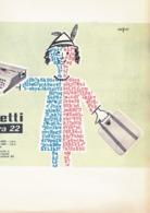 (pagine-pages)PUBBLICITA' OLIVETTI  Tempo1953/43. - Altri
